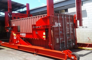 High-Flexibility-Horizontal-And-90°-Container-Loader