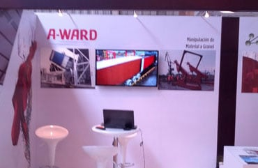 International-Mining-Industry-Exhibition-A-ward-stand-1